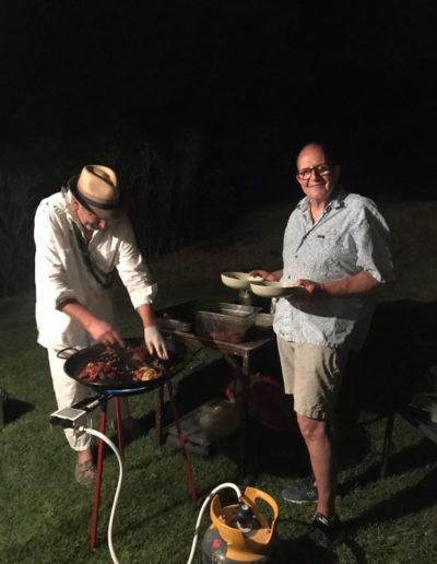 Le premier dîner dans les vignes de la commanderie des Templiers